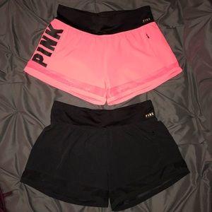 VS PINK shorts!